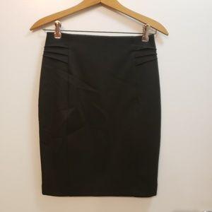Express - Black Pencil Skirt Size 0.
